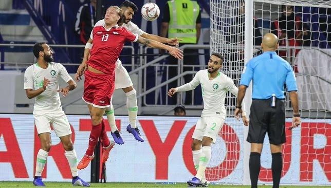 المنتخب السعودي يعبر الدور الثاني المنتخب السعودي يعبر الدور الثاني